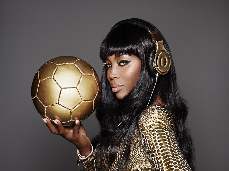Beats x Naomi Campbell - gold allemagne Coupe du Monde 2014