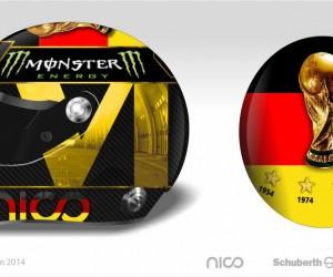La FIFA veut interdire le nouveau casque de Nico Rosberg
