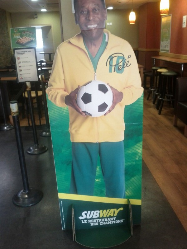 pelé Subway