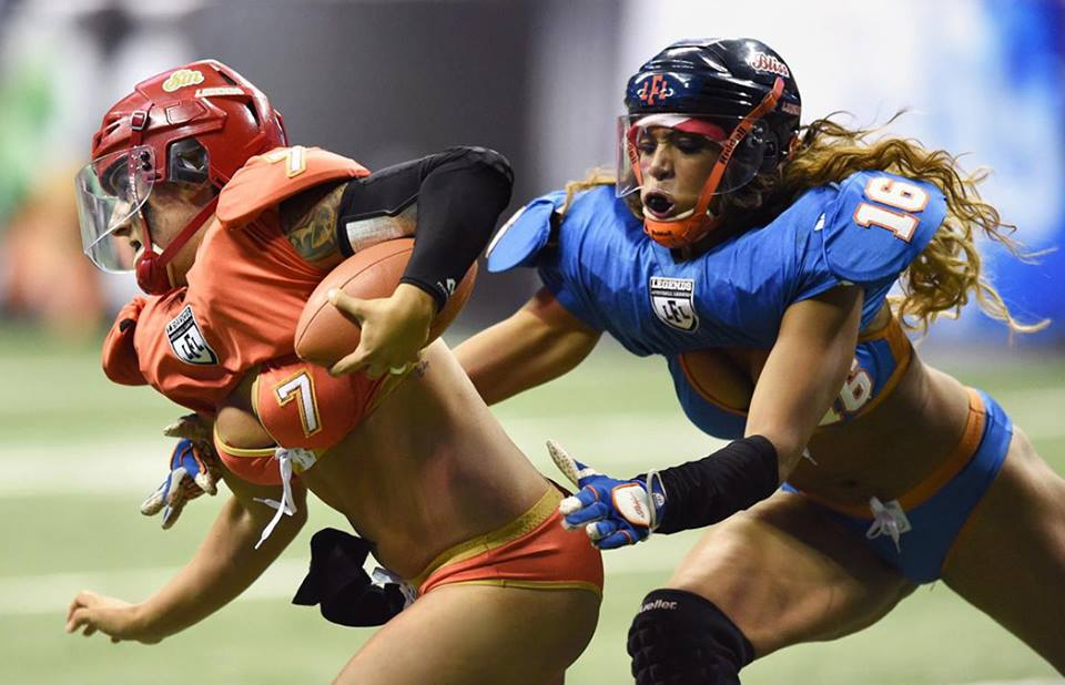 LFL lingerie football league MCS extrême