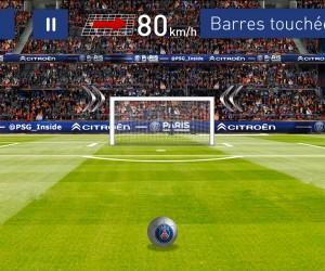 L'application Citroën Golden Barre x Paris Saint-Germain