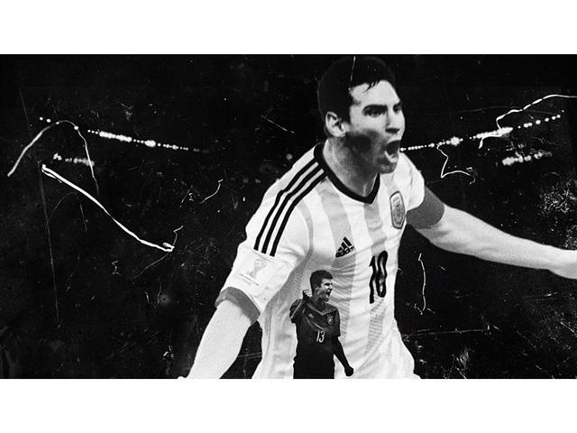 adidas finale world cup allemagne argentine messi müller