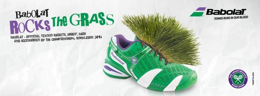 babolat wimbledon grass