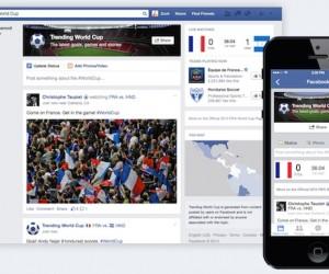 Un record historique pour Facebook lors de la Finale de la Coupe du Monde 2014 entre l'Allemagne et l'Argentine