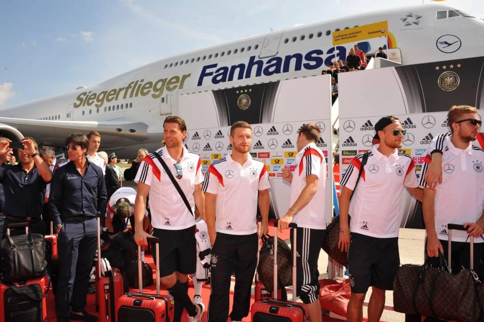 fanhansa lufthansa germany world cup 2014 boeing
