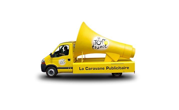 La liste des 37 annonceurs de la caravane publicitaire du for Salon de la caravane