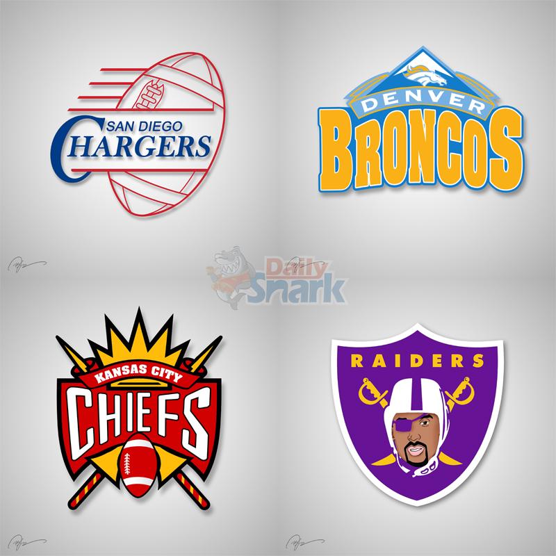 logos NFL NBA mashups