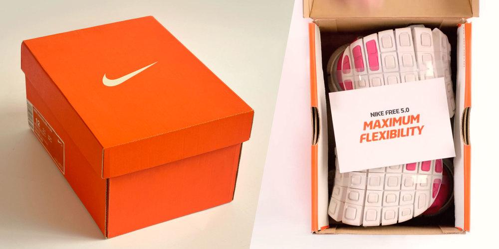 Populaire Une boite à chaussures miniature pour les Nike Free 5.0  HL79