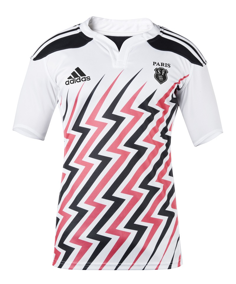 6831ba71b6880 nouveau maillot domicile stade français paris 14-15 adidas
