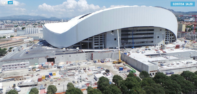 Olympique De Marseille Le Naming Du Stade V 233 Lodrome Pour