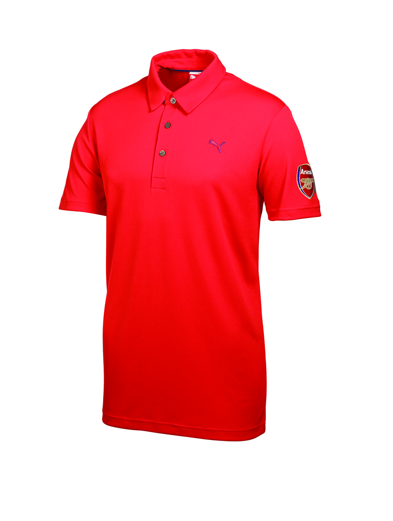 polo puma arsenal golf