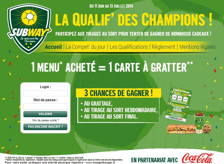 subway champions party platters