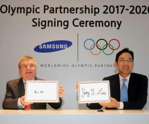 Samsung prolonge son partenariat avec le CIO jusqu'en 2020
