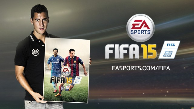 FIFA 15 cover eden hazard