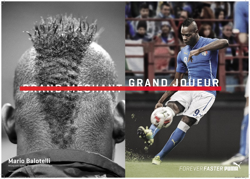 FOREVER_FASTER_BALOTELLI mario puma commercial