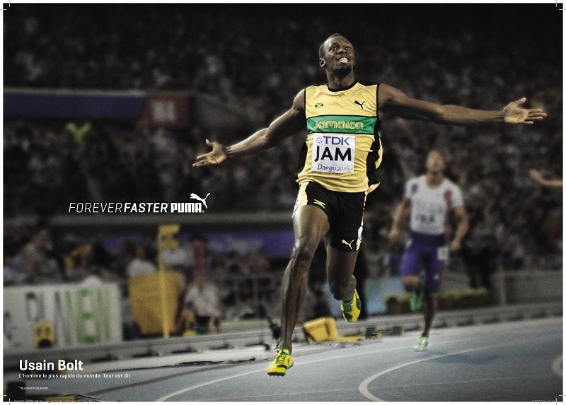 FOREVER_FASTER_Usain Bolt puma marketing