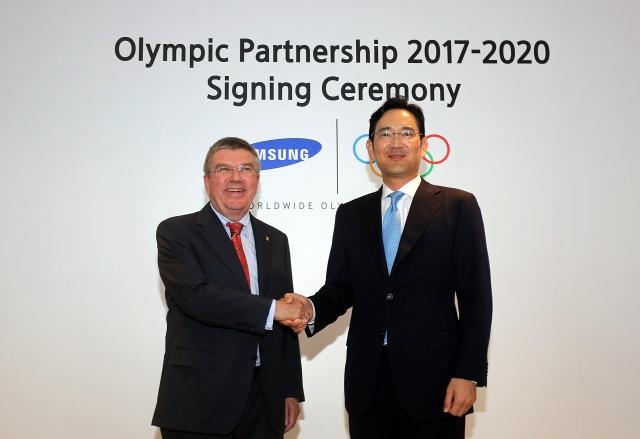 IOC samsung sponsoring 2017-2020