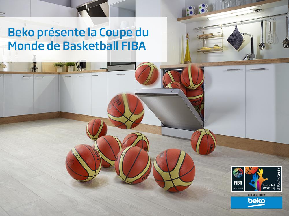 Coupe du monde de basket 2014 la marque beko sur les parquets en tv et dans les rues de madrid - Coupe du monde de basket 2014 ...