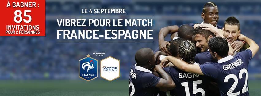accor partenaire officiel Fédération française de football équipe de france accorhotels