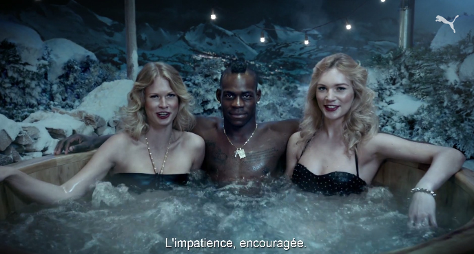 balotelli faster forever puma jaccuzi commercial