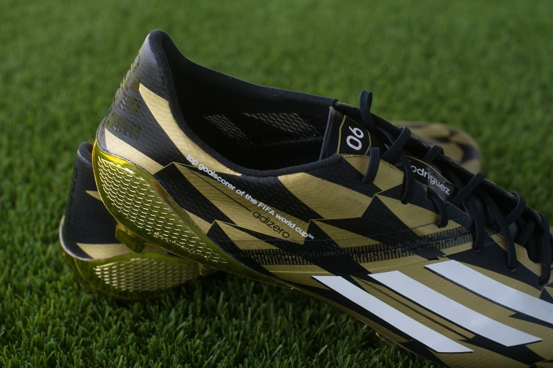 golden boot adizero f50 adidas james rodriguez