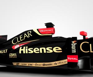 Sponsoring – Après le tennis et le foot, Hisense investit les circuits de Formule 1 avec Lotus F1 Team