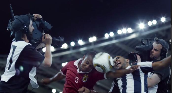 les caméramen pub canal plus sport football