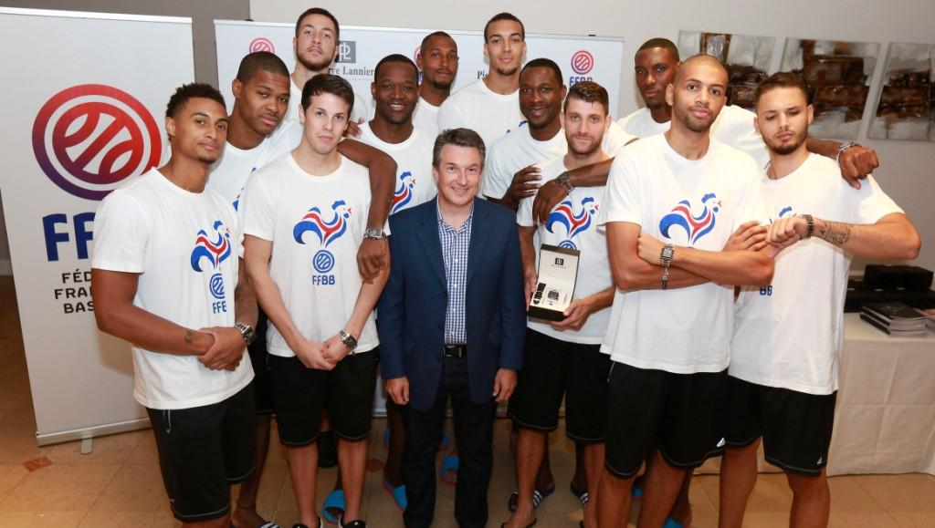 montre pierre lannier-ffbb-fédération française basket sponsoring