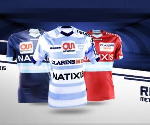 Nouveaux Maillots Racing Metro 92 2014/2015 (Kappa)