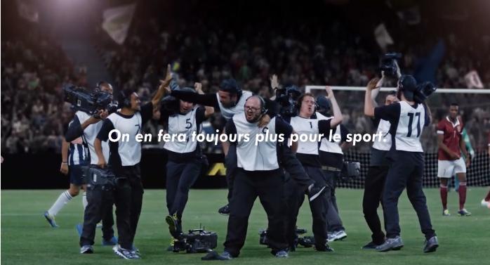 on en fera toujours plus pour le sport les cameramen canal plus sport football