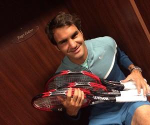 Nouvelle raquette pour Roger Federer – Wilson Pro Staff RF97 Autograph