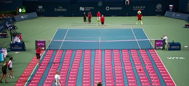 service 1 million de dollars tennis fan toronto masters banque nationale national bank