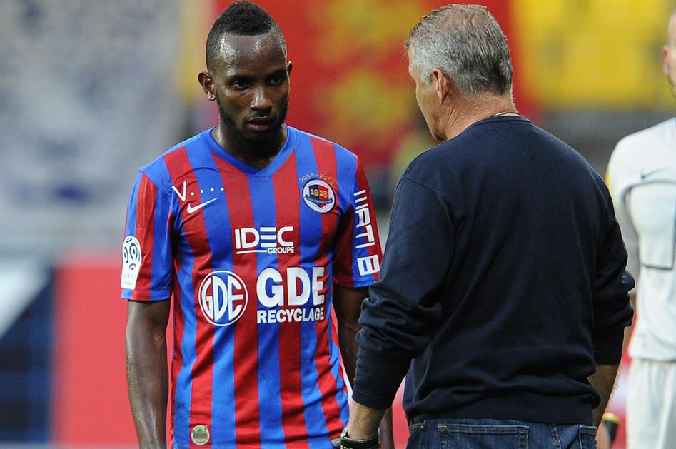 sponsor maillot mystérieux SM Caen reveal PSG