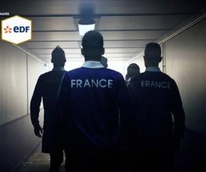 EDF va afficher des tweets de Fans dans son spot pub diffusé à la mi-temps de France-Espagne