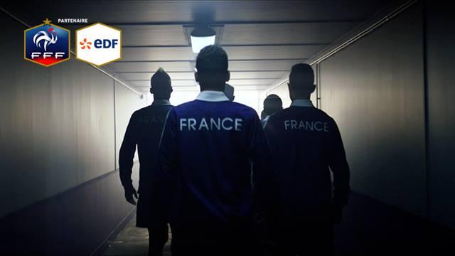 EDF tweets équipe de france publicité