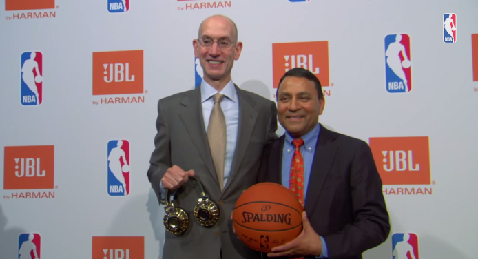 JBL NBA harman sponsoring basket audio