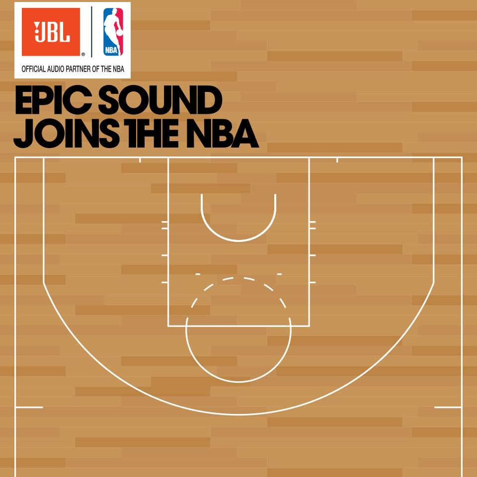 JBL NBA sponsoring