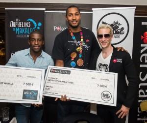 La star du poker ElkY offre 15 000€ aux associations de Boris Diaw et Rio Mavuba