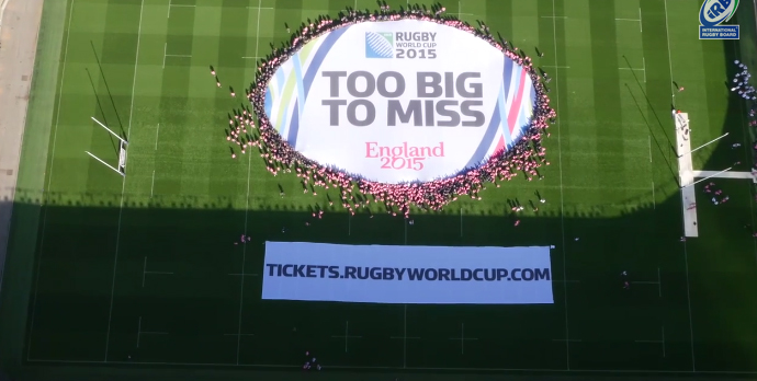 World's Largest Scrum too big to miss rugby world cup 2015