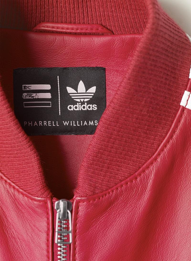 Adidas Williams Adidas Williams Veste Pharrell Lether Pharrell qEa0wPq