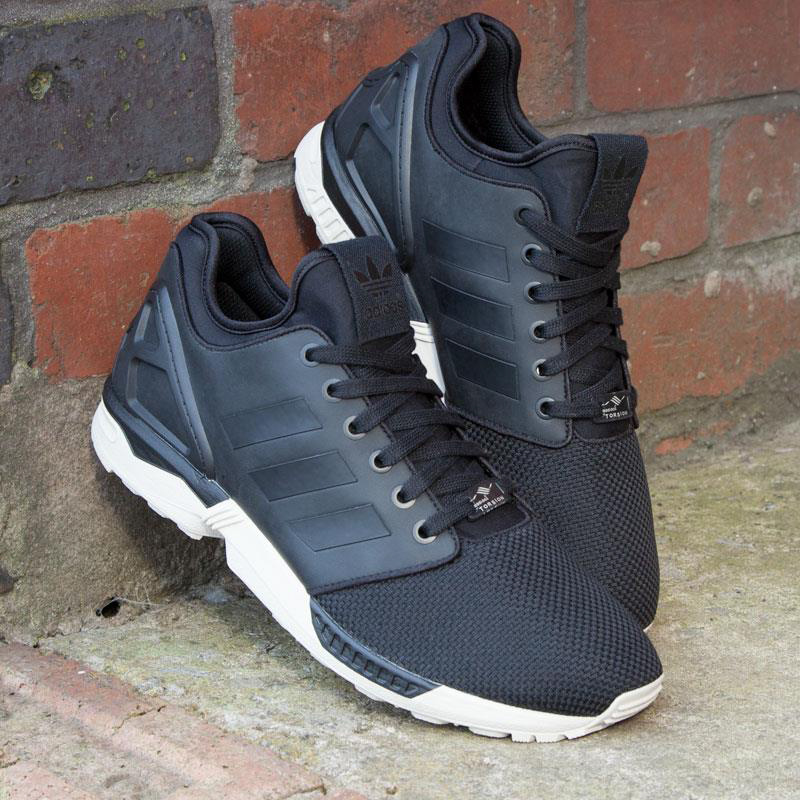 adidas zx flux noir et blanc homme