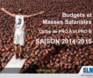 Basket – Budgets & Masses salariales des clubs de Pro A et Pro B pour la saison 2014/2015