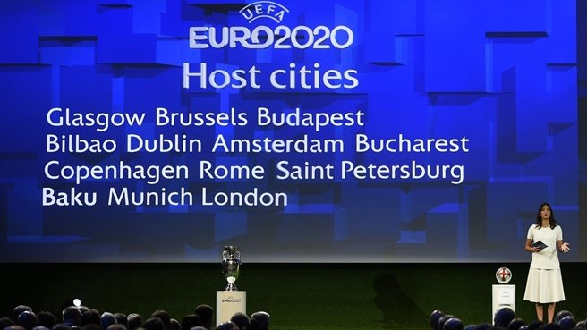 FOOTBALL MASCULIN CHAMPIONNAT D'EUROPE 2020 Euro-2020-host-cities