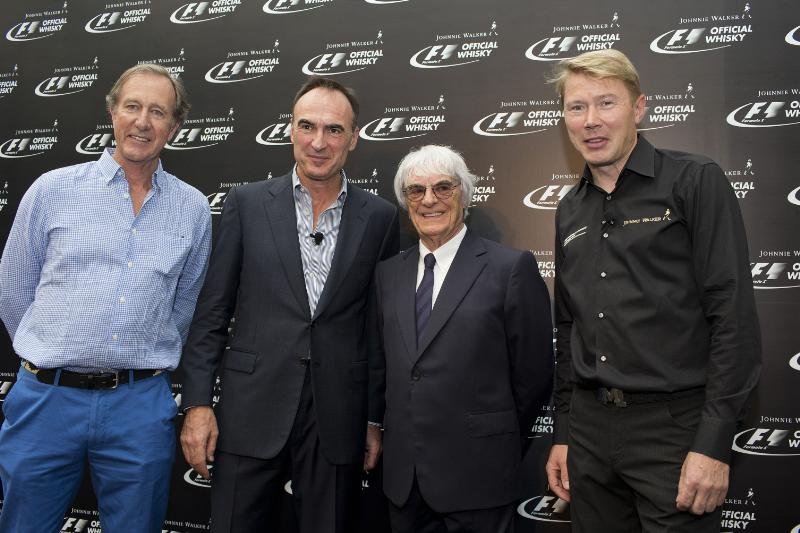 JOHNNIE WALKER® Becomes the Official Whisky of FORMULA 1®