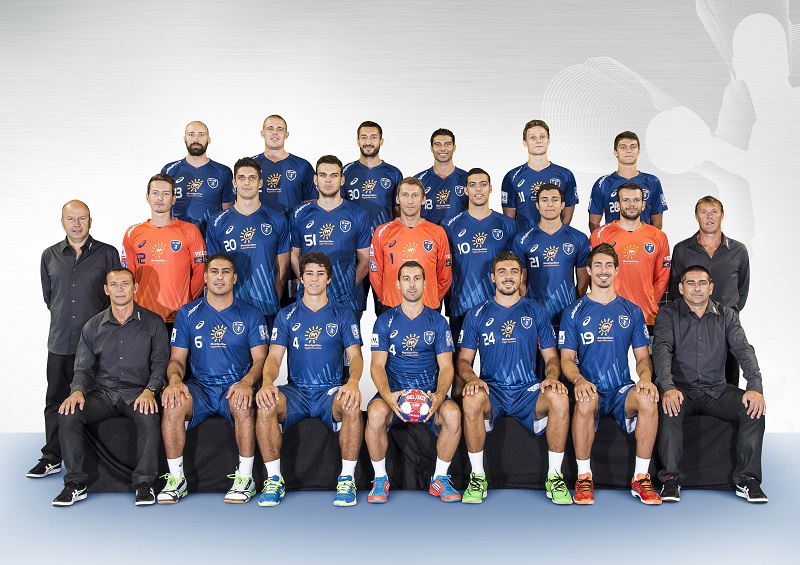 nouveaux maillots montpellier handball 2014 2015 asics. Black Bedroom Furniture Sets. Home Design Ideas