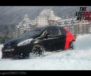 Une publicité survitaminée aux effets spéciaux pour la nouvelle Peugeot 208 GTI 30th