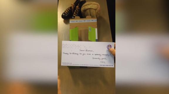 cadeau toulouse Football Club Zlatan Ibrahimovic