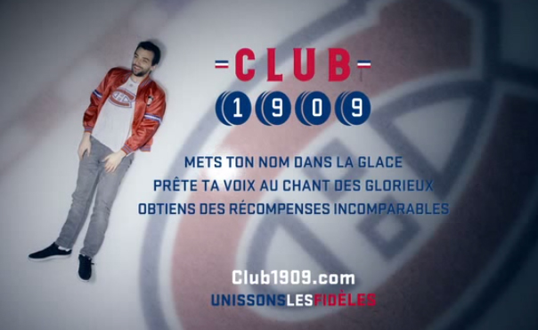 club 1909 canadiens de montréal NHL Fans
