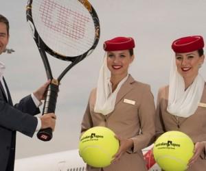 Emirates devient Partenaire de l'Open d'Australie