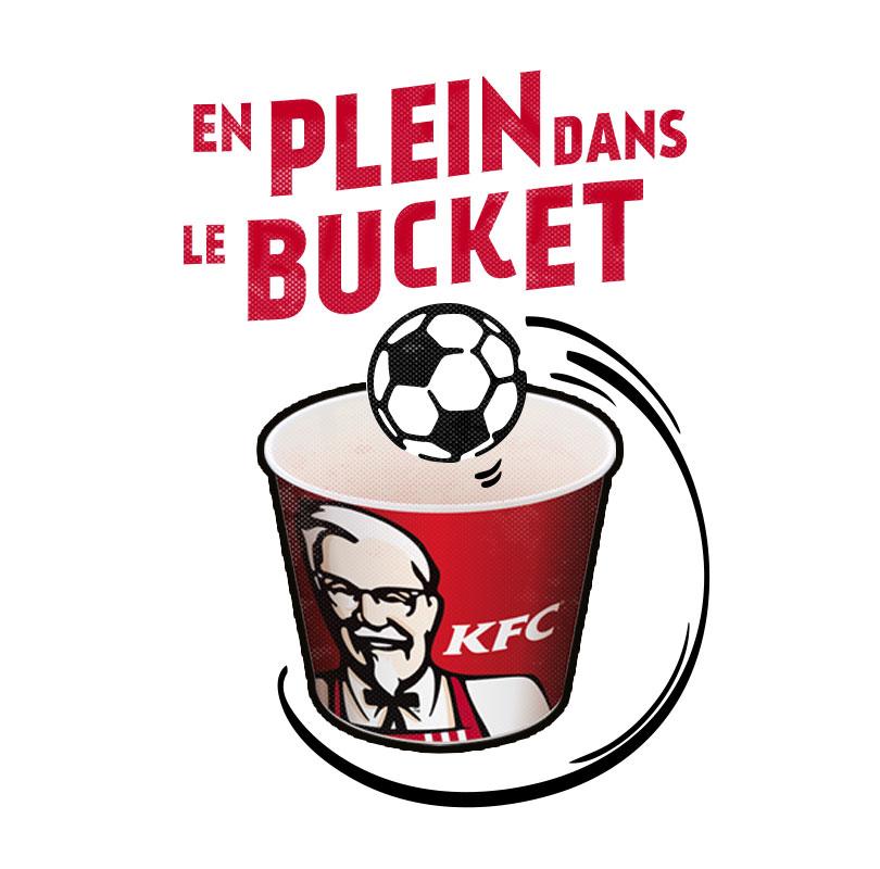 en plein dans le bucket KFC FFF